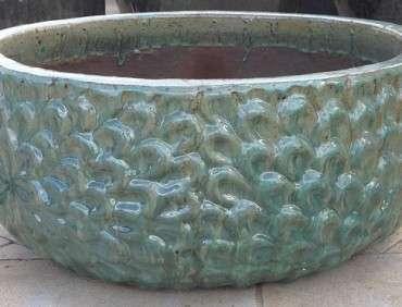 Daisy Water Bowl Celadon ST211559