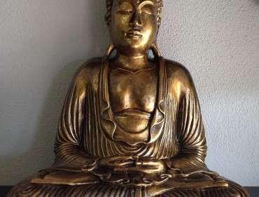 FBR1001L BUDDHA GOLD 40CM