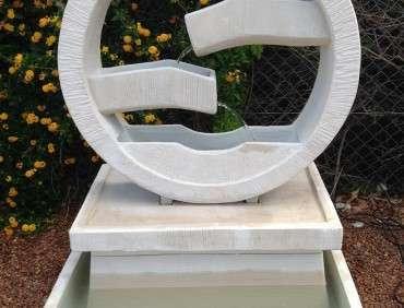 FJR074IH Creme Water Wheel