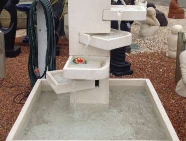 FT109 Terrazzo Stair Water feature