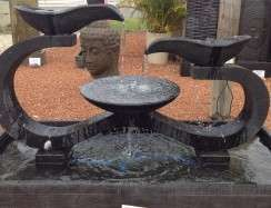 WT103-IH Omega Water Feature Black