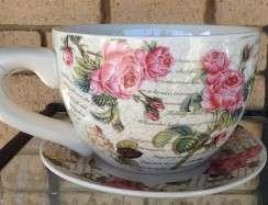 28002CUP Classic Rose Teacup