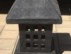 FJR158C Square Lantern Black