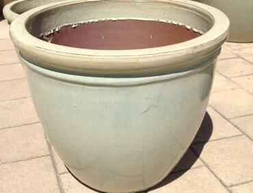ST0927 Antique Creme Belly Pot