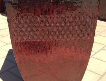 ST322145 Cognac Red Bella Pot